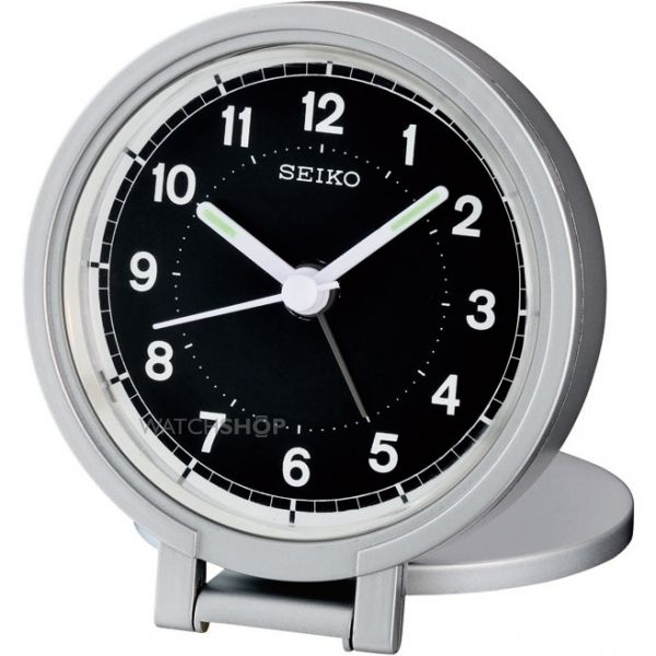 Seiko Clocks Travel Alarm Clock QHT011A