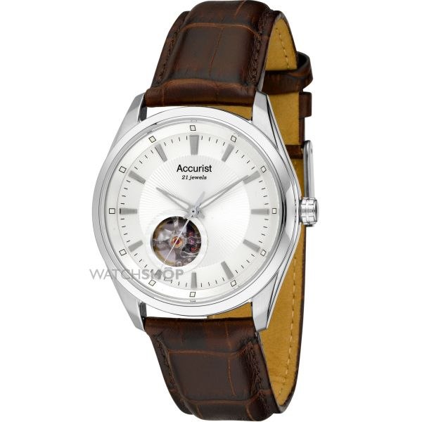 Mens Accurist Pure Precision Classic Collection Automatic Watch MS907S
