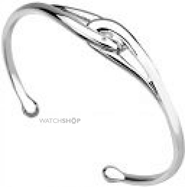 Ladies Hot Diamonds Sterling Silver Capture Me Bangle DC181