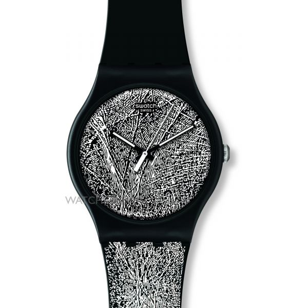 Unisex Swatch Recognize Me Watch SUOZ136