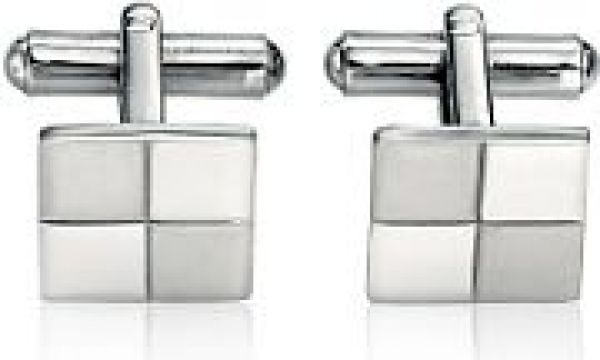 Mens Fred Bennett Stainless Steel Cufflinks V319