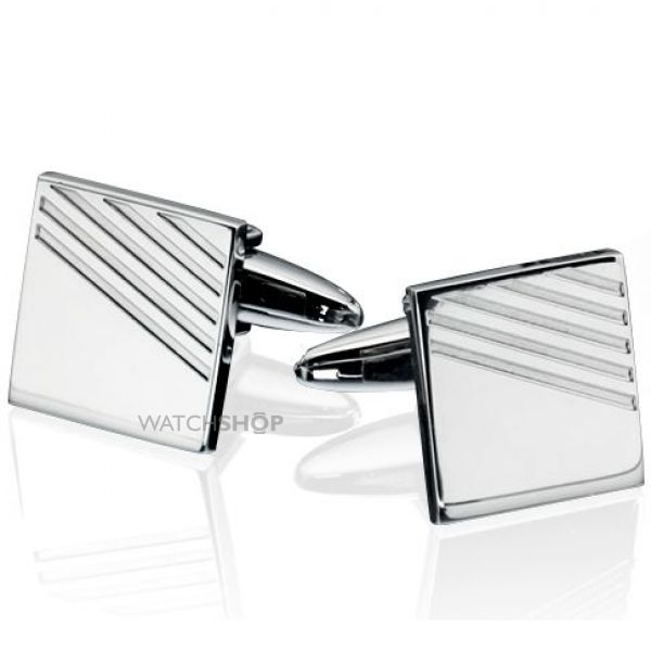 Mens Fred Bennett Stainless Steel Cufflinks V415
