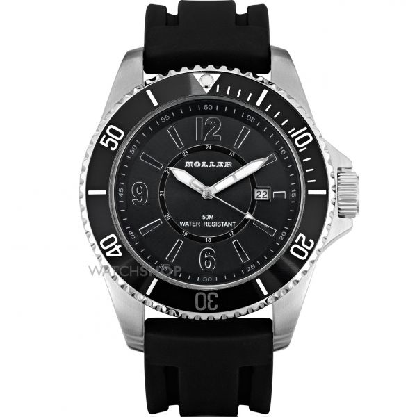 Mens Holler Harthon Black Watch HLW2189-1