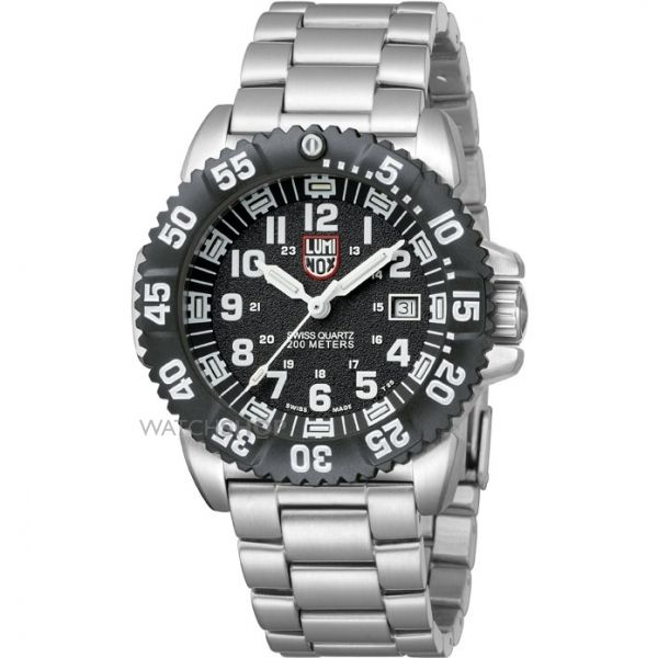 Mens Luminox Navy SEAL Steel Colormark 3150 Series Watch A3152