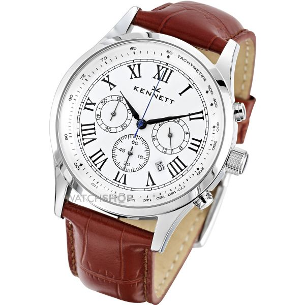 Mens Kennett Savro Chronograph Watch WSAVWHBKLBR