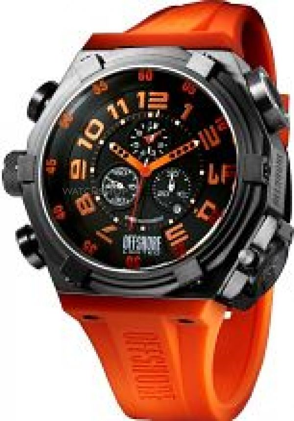 Mens Offshore Force 4 Chronograph Watch OFF-001-D