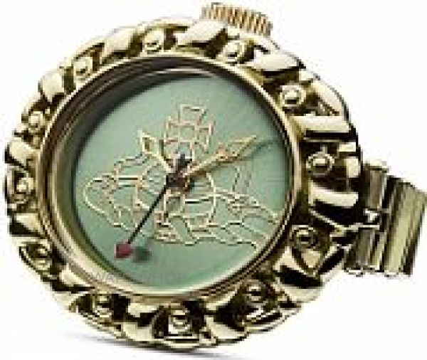 Ladies Vivienne Westwood Pimlico Ring Watch VV052GRGD