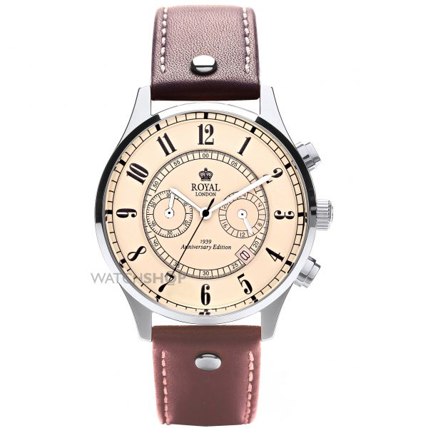 Mens Royal London Chronograph Watch 41111-01