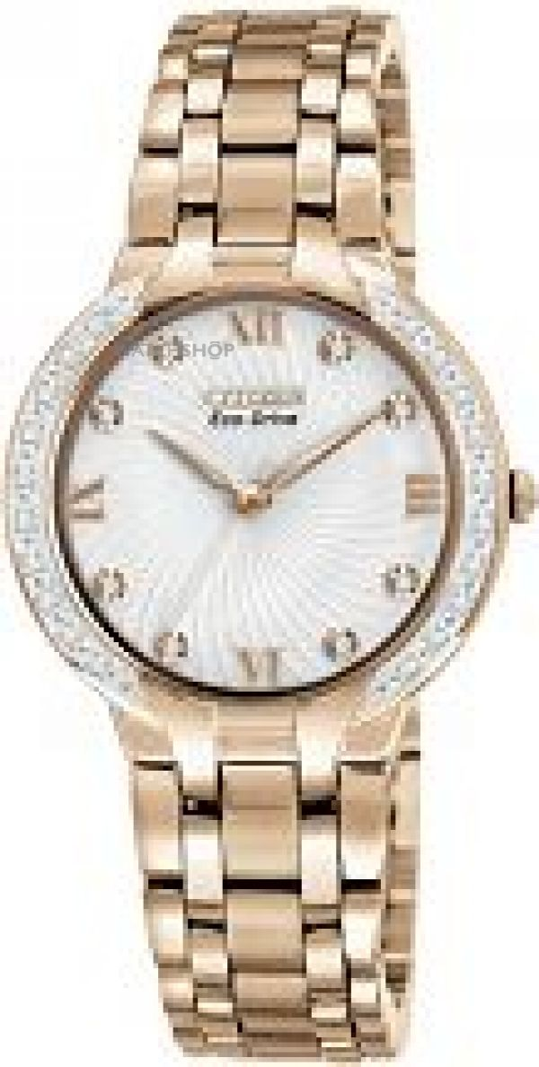 Ladies Citizen Bella Diamond Eco-Drive Watch EM0123-50A