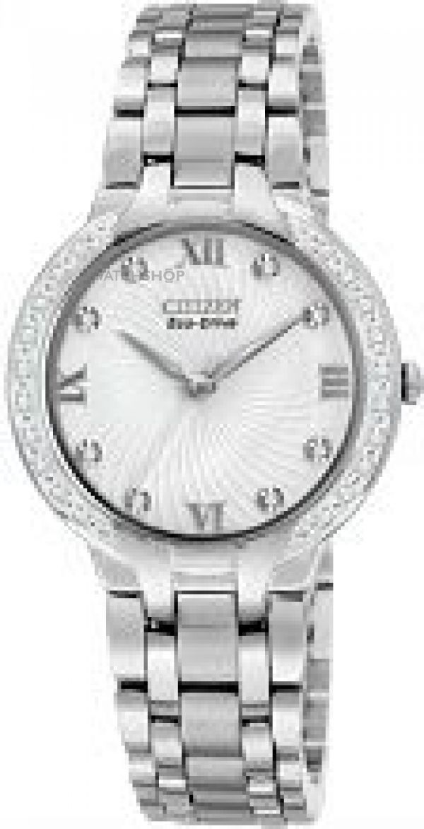 Ladies Citizen Bella Diamond Eco-Drive Watch EM0120-58A
