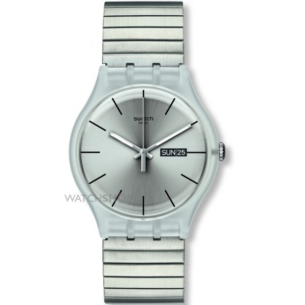 Unisex Swatch Resolution Large Watch SUOK700A