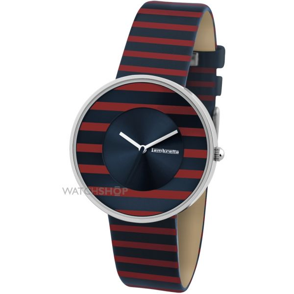 Ladies Lambretta Cielo Stripes Watch 2105RED