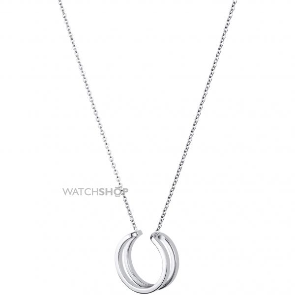 Ladies Calvin Klein Stainless Steel Return Necklace KJ0ZMP000100
