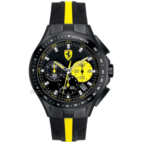 Mens Scuderia Ferrari SF103 Textures Of Racing Chronograph Watch 0830025