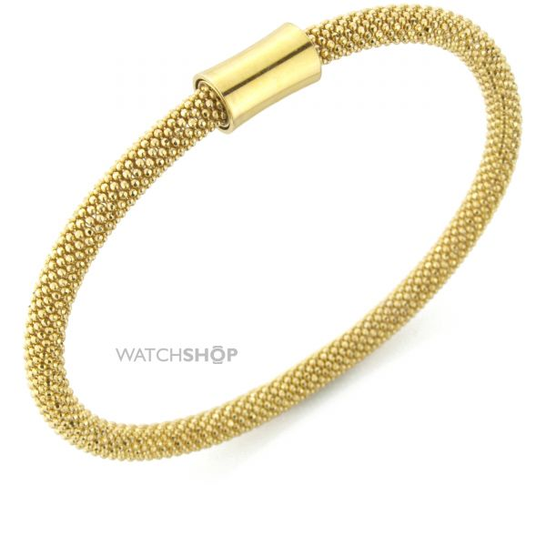 Sterling Silver Gold-hue Galvanised Magnetic Clasp Wristpiece
