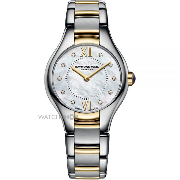 Ladies Raymond Weil Noemia 24mm Diamond Watch 5124-STP-00985