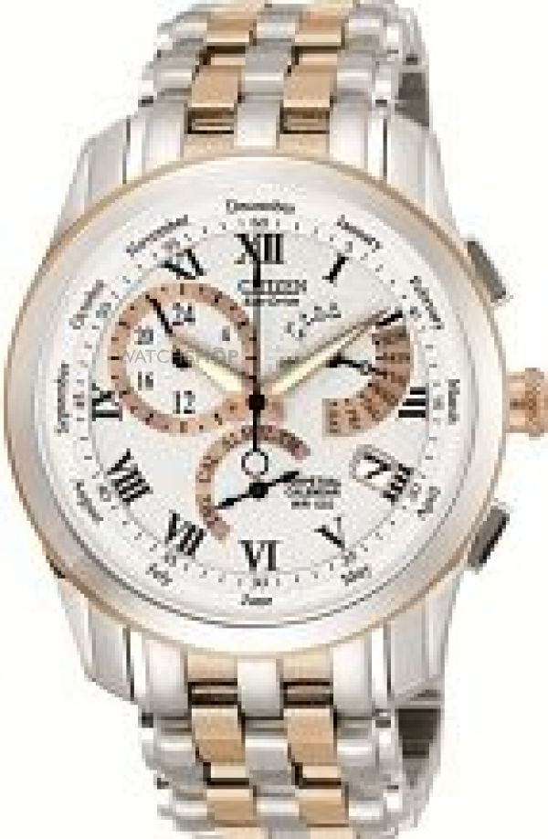 Mens Citizen Calibre 8700 Alarm Eco-Drive Watch BL8106-53A