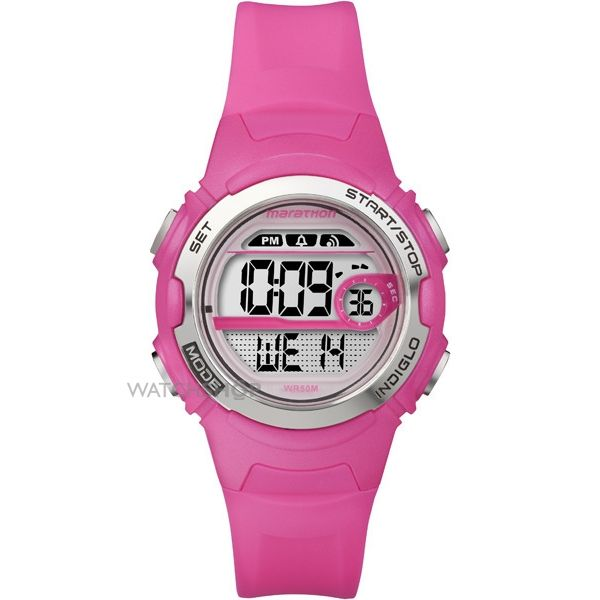 Childrens Timex Indiglo Marathon Alarm Watch T5K771