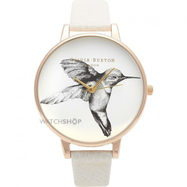 Ladies Olivia Burton Animal Motif Hummingbird Watch OB13AM06