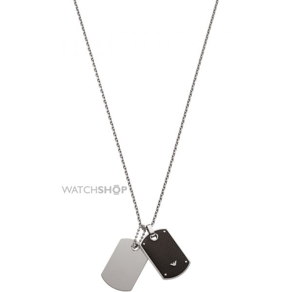 Emporio Armani Jewellery Gents Stainless Steel Necklace EGS1601040