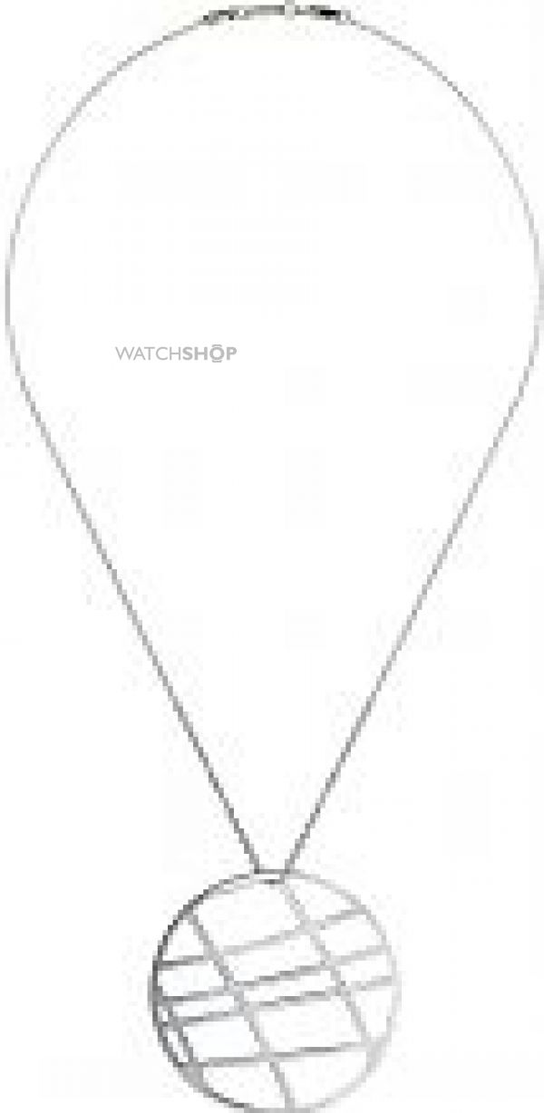 Ladies Calvin Klein Stainless Steel Draw Pendant KJ1TMP000100
