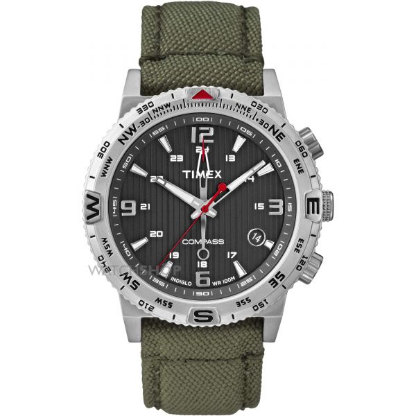 Mens Timex Indiglo Intelligent Quartz Watch T2P286