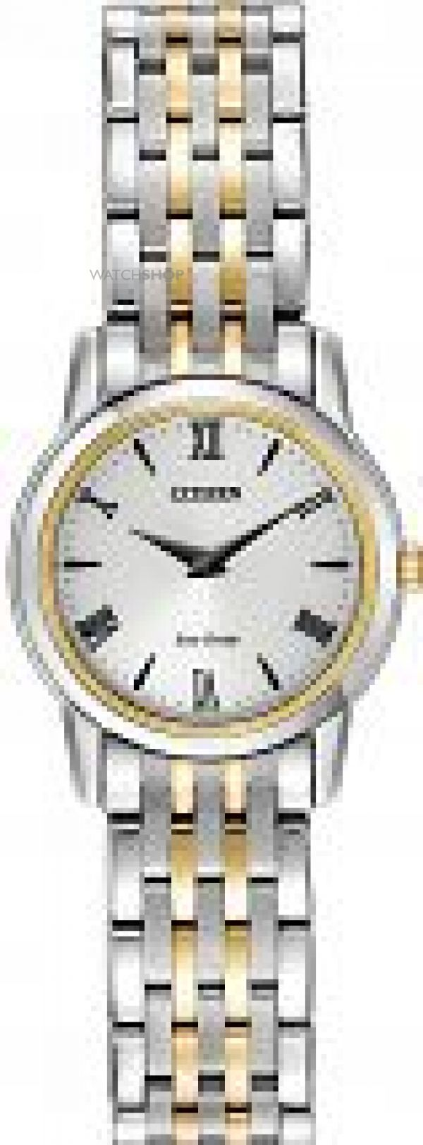 Ladies Citizen Stiletto Eco-Drive Watch EG3048-58A