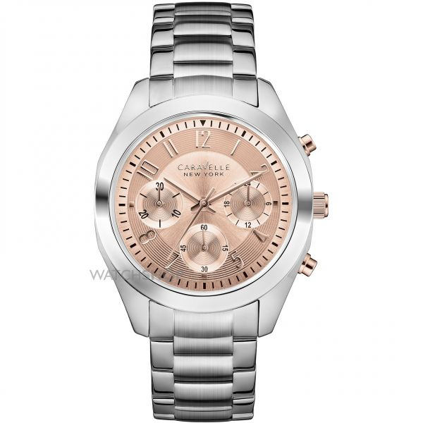 Ladies Caravelle New York Melissa Chronograph Watch 45L143