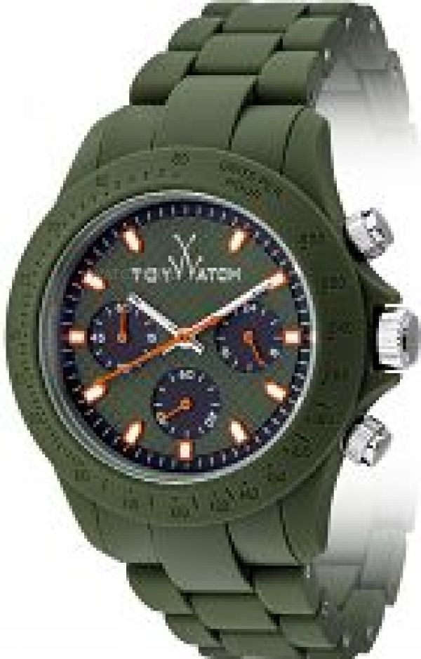 Mens ToyWatch Velvety Chronograph Watch VVC06GR