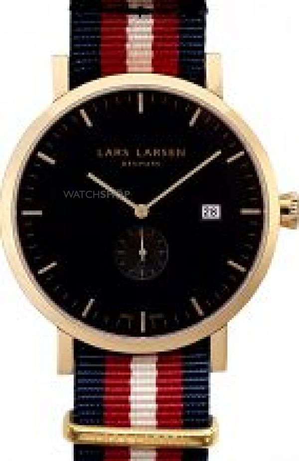 Mens Lars Larsen Sebastian Watch 131GBNN