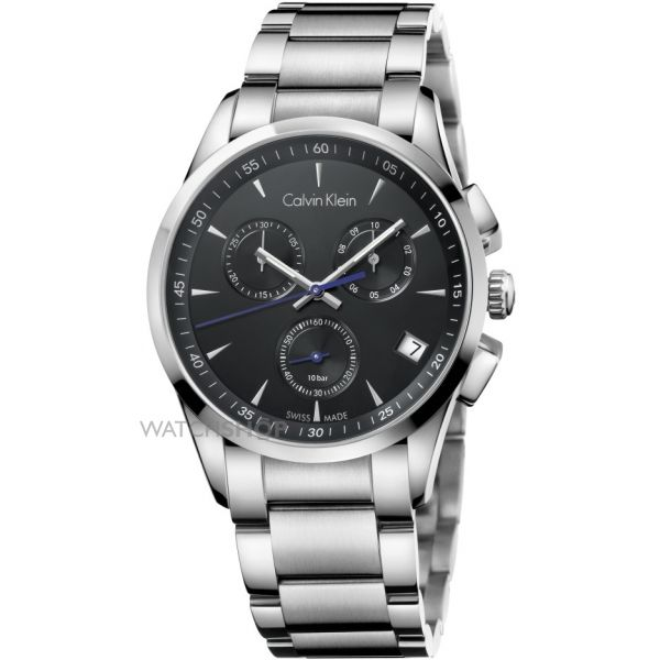 Mens Calvin Klein New Bold Chronograph Watch K5A27141