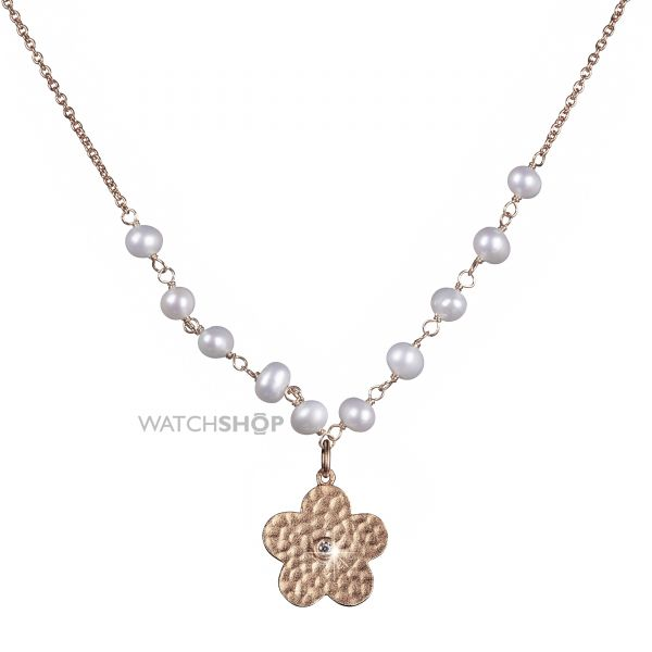 Ladies Shimla PVD rose plating Necklace SH638