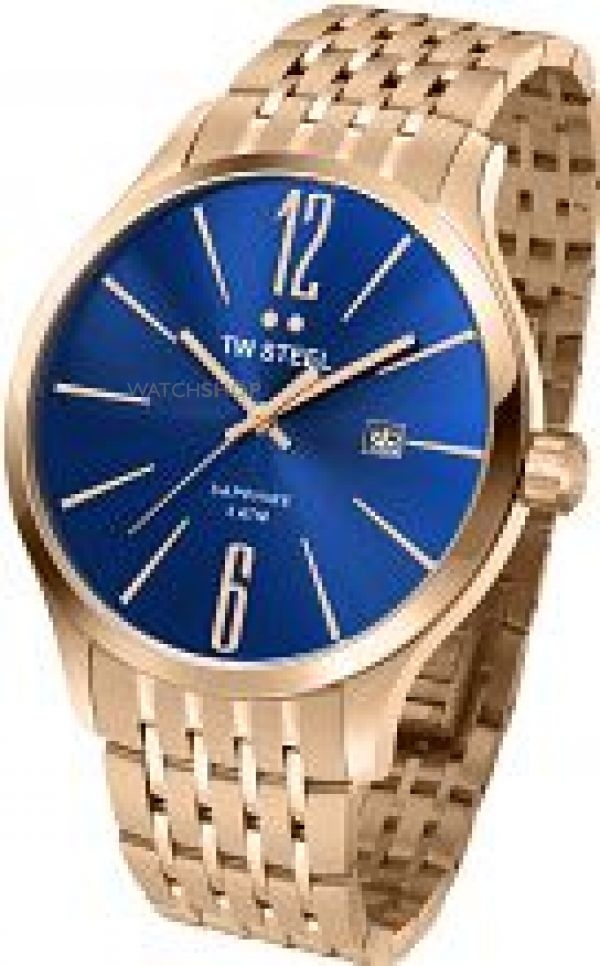 Mens TW Steel Slim 45mm Watch TW1309