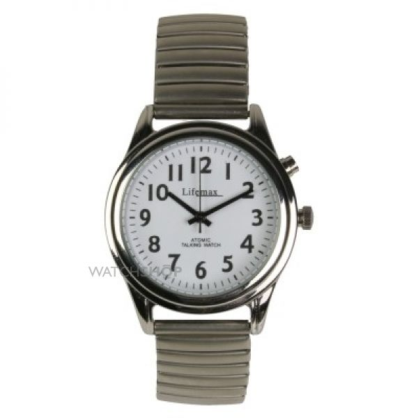 Mens Lifemax RNIB Talking Atomic Watch 407.1E