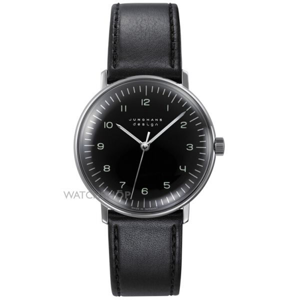 Unisex Junghans Max Bill Handwinding Mechanical Watch 027/3702.00