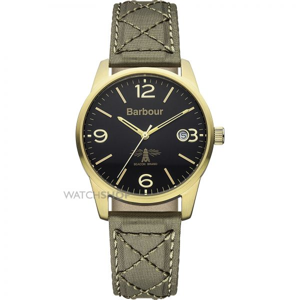 Mens Barbour Alanby Watch BB026GRGR