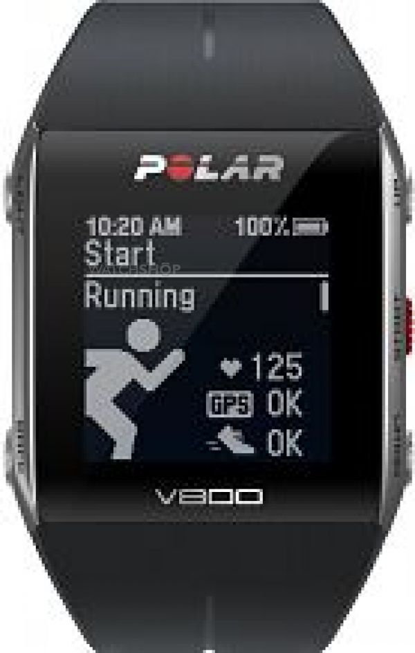 Unisex Polar V800 Bluetooth Heart Rate Monitor GPS Smart Alarm Chronograph Watch 90047437