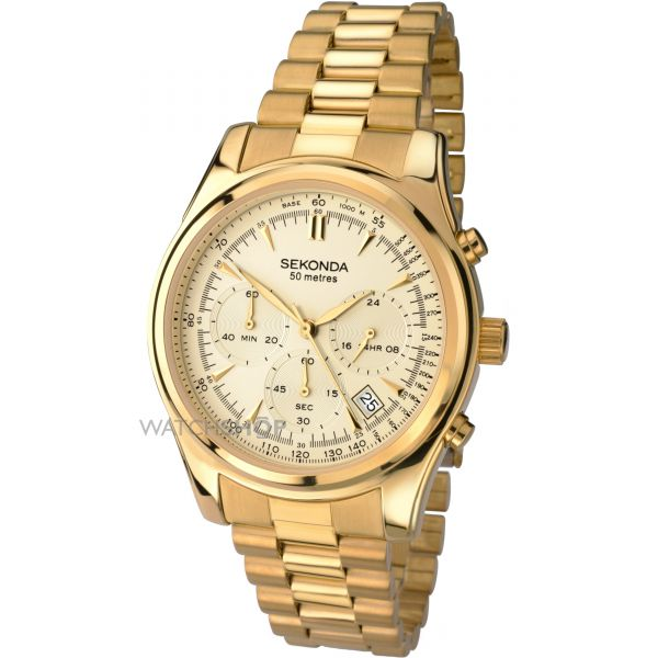 Mens Sekonda Chronograph Watch 1019