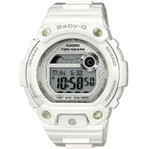 Ladies Casio Baby-G Alarm Chronograph Watch BLX-100-7ER