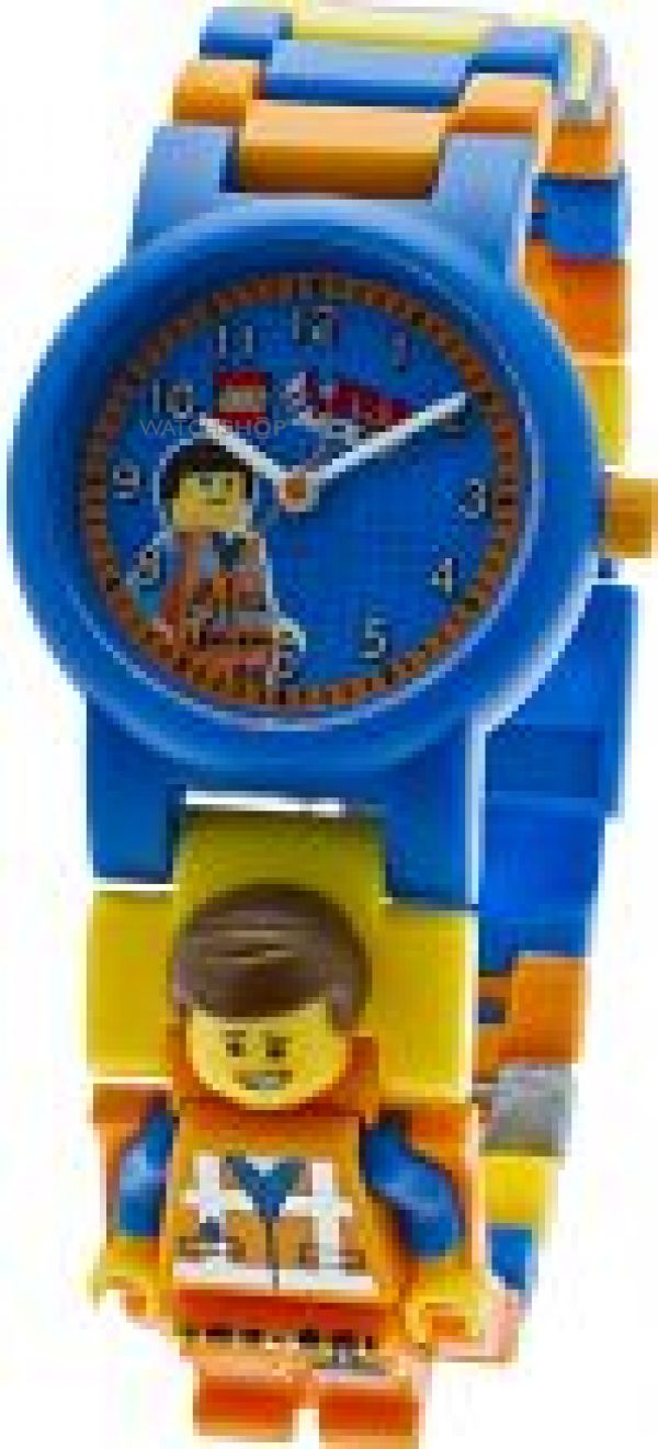 Childrens LEGO Movie Emmet Minifigure Link Watch 9009976