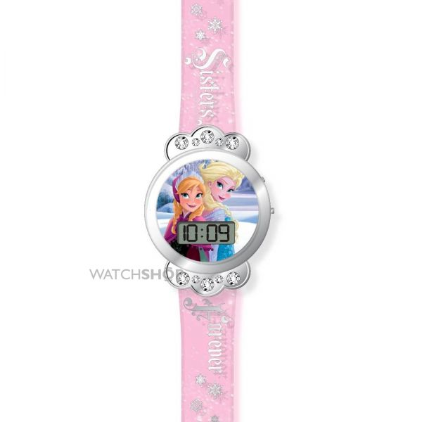 Childrens Character Frozen LCD Watch FROZ3