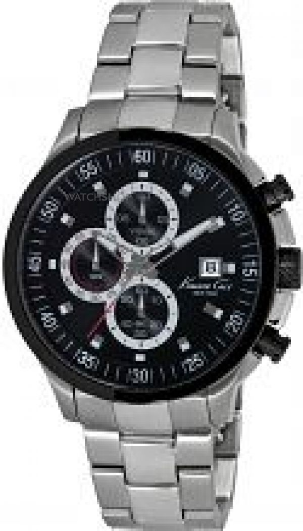 Mens Kenneth Cole Chronograph Watch KC9384
