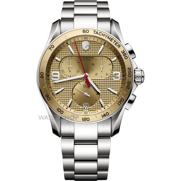 Mens Victorinox Swiss Army Chrono Classic Chronograph Watch 241658
