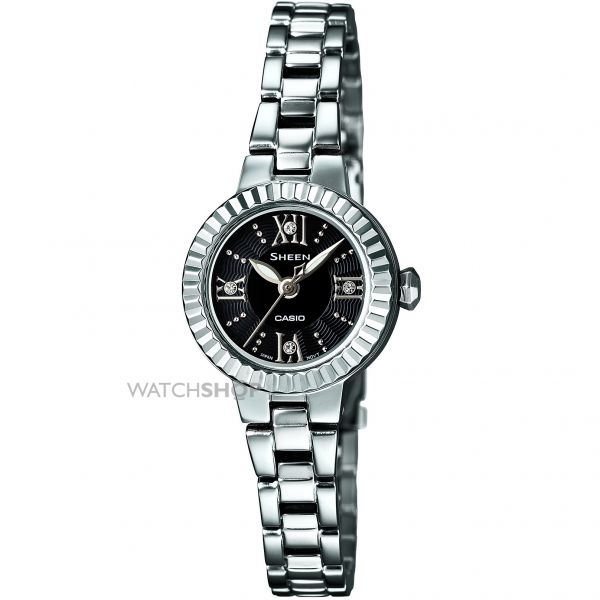 Ladies Casio Sheen Watch SHE-4032D-1AUPR