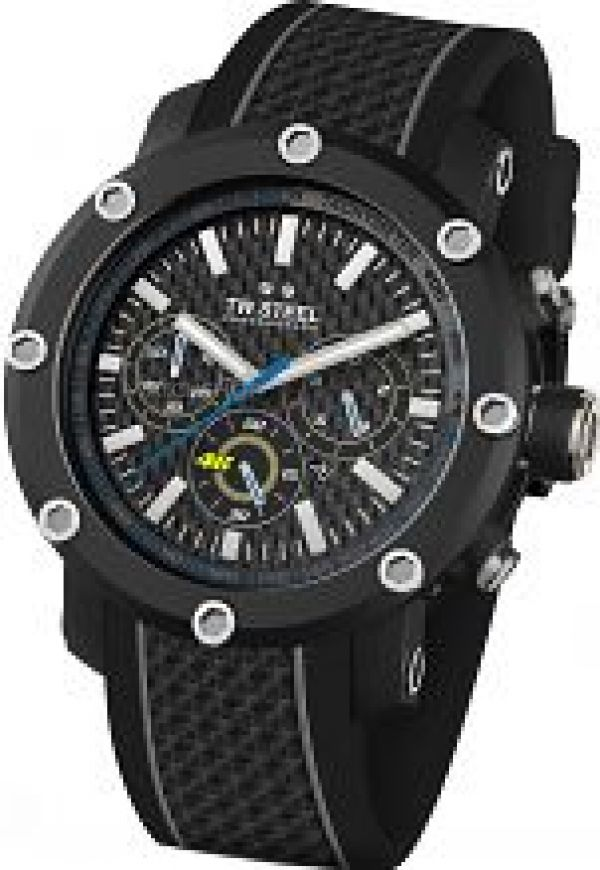 Mens TW Steel Tech 48mm VR46 Chronograph 48mm Watch TW0937
