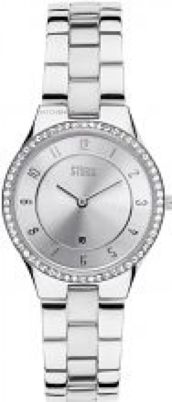 Ladies STORM Slim X Crystal Watch SLIM-X-CRYSTAL-SILVER