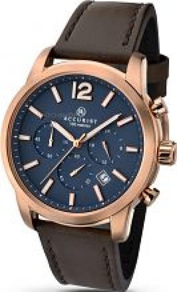 Mens Accurist London Chronograph Watch 7021