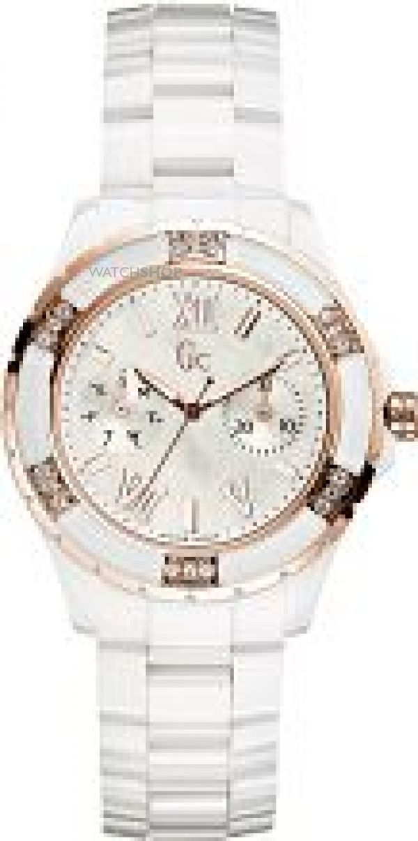 Ladies Gc Sport Class XL-S Glam Ceramic Watch X69116L1S