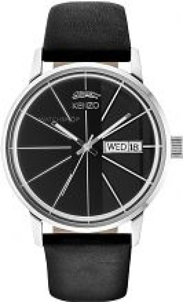 Mens KENZO Day By Day Watch 9601001