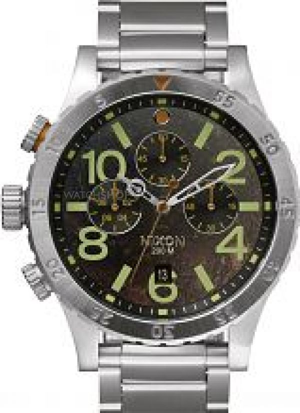 Mens Nixon The 48-20 Chrono Chronograph Watch A486-1956